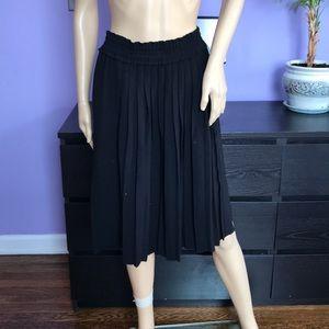 Isabel Marant Black pleated Skirt size 38
